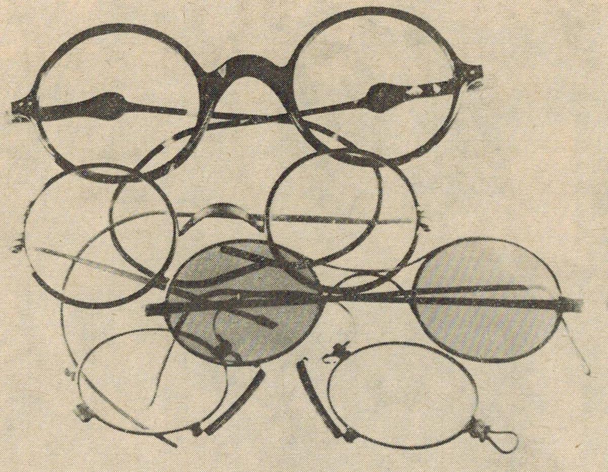 Brýlové obruby výroby Matuška a Mařan