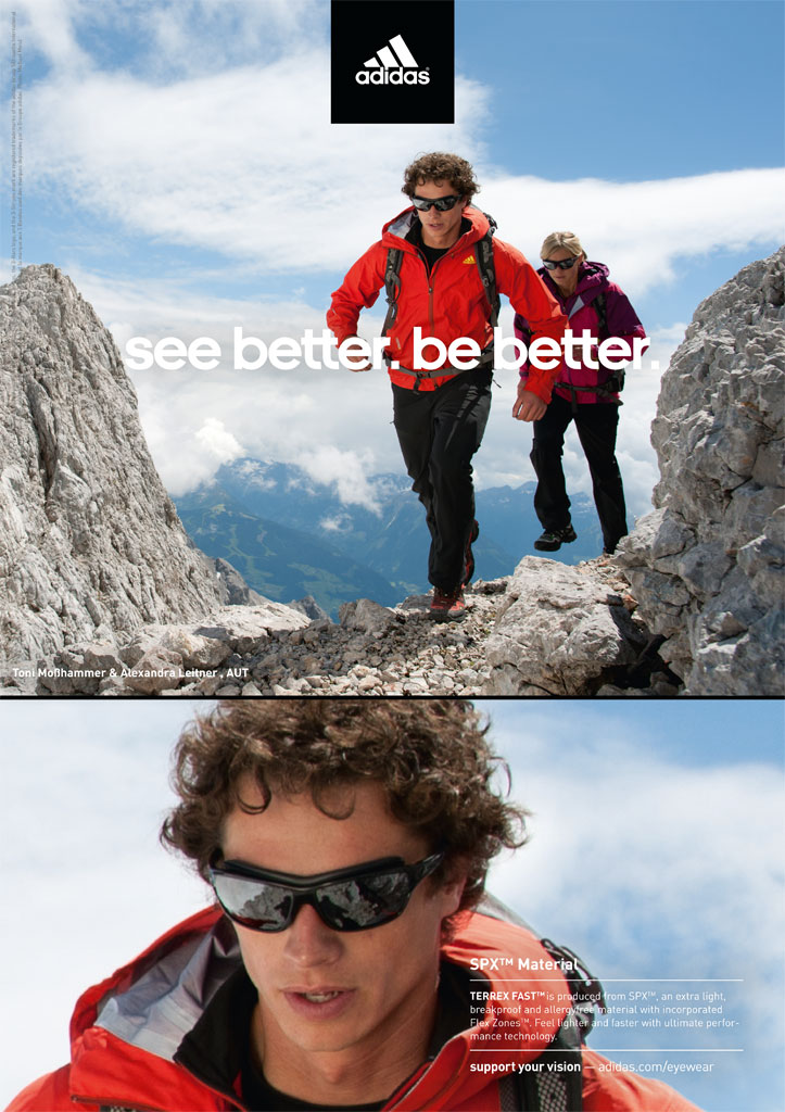 Sportovní brýle Adidas