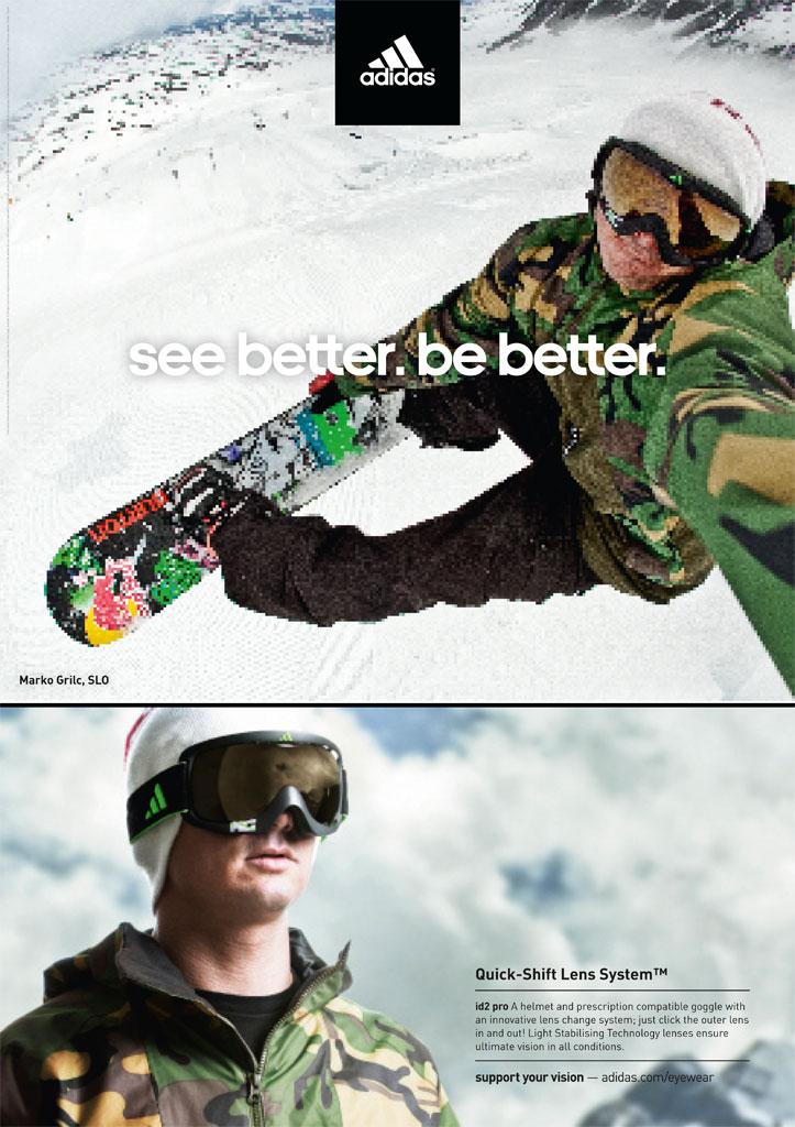 Adidas sportovní brýle